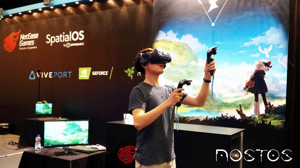 在网易这款VR游戏的开放世界里,我开启了一次治愈系的探索之旅