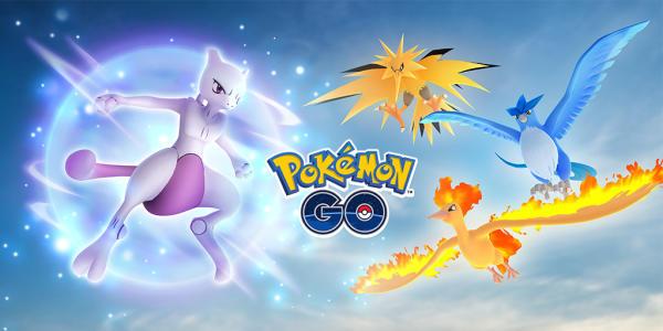 传说齐聚 《Pokemon GO》超梦现身道馆团体战